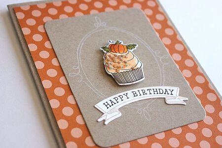 Cupcakes- Geburtstagskarte