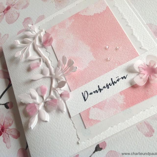 Der Kirschblütenzweig