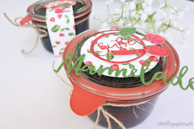 Süße Grüße in Form von Kischmarmelade