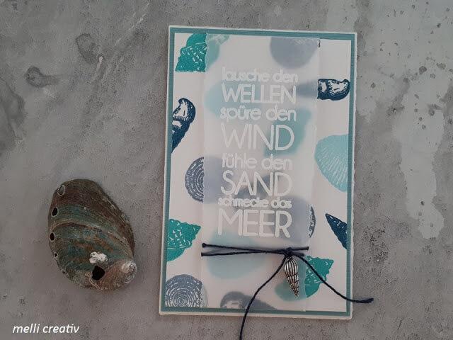 Wellen, Wind, Sand, Meer