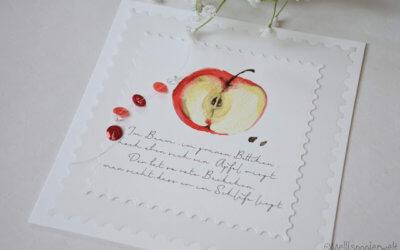 Apfelkarte Nr. 2