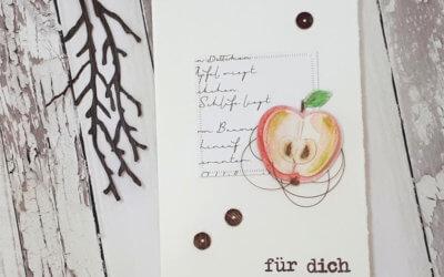 Apfel für dich