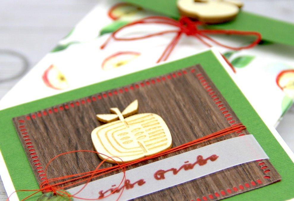 Süße 'Apfel' Grüße