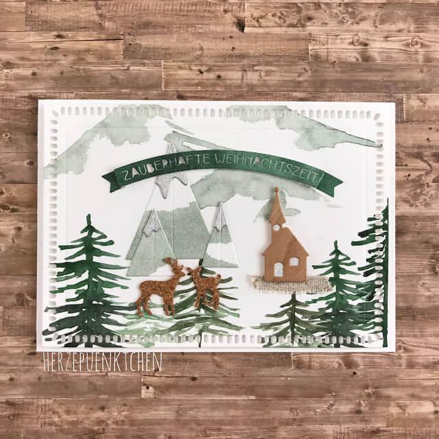 Alpenländische Weihnachtsgrüße