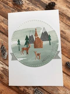 Weihnachtsgruß mit dem neuen Alpenpanorama-Kit
