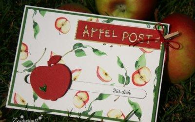 Kullernder Apfel