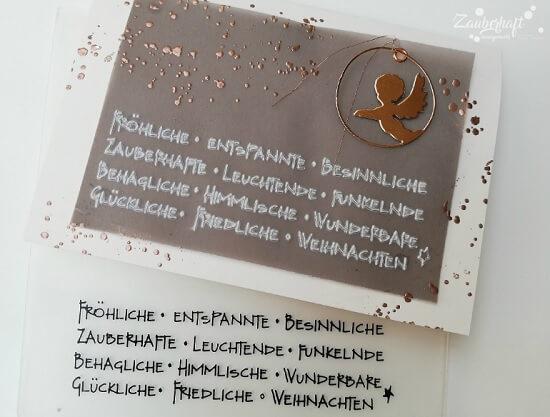Embossingfolder mit deutschen Texten…