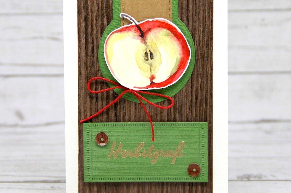 Herbstlicher Apfelgruß
