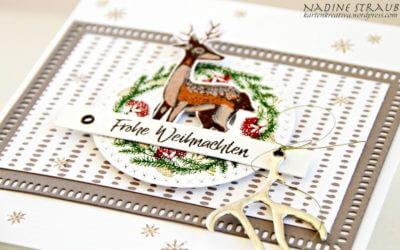 Skandi-Weihnachtskarte