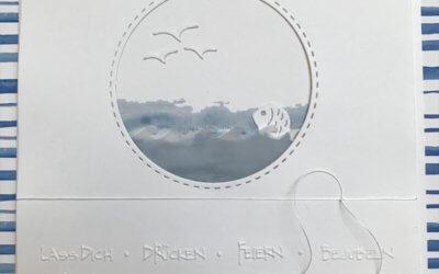 Geburtstagskarte für einen Fisch