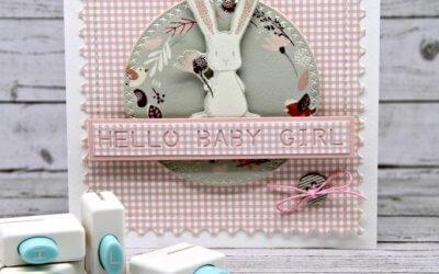 HELLO BABY GIRL – Babykarte