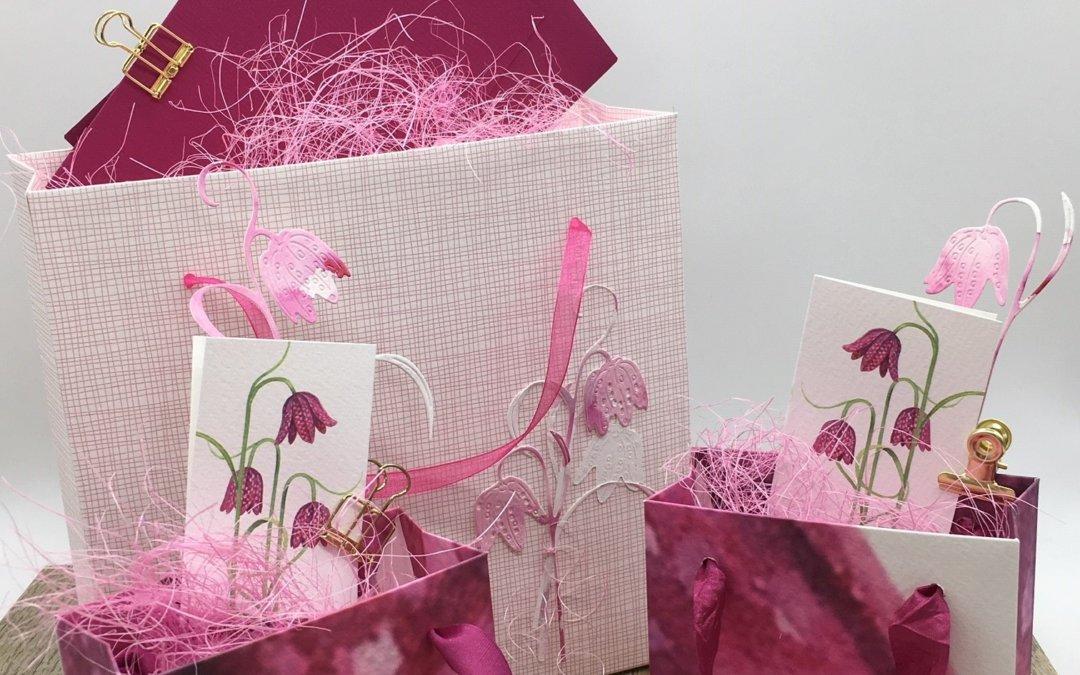 Frühlingshafte Geschenktüten…