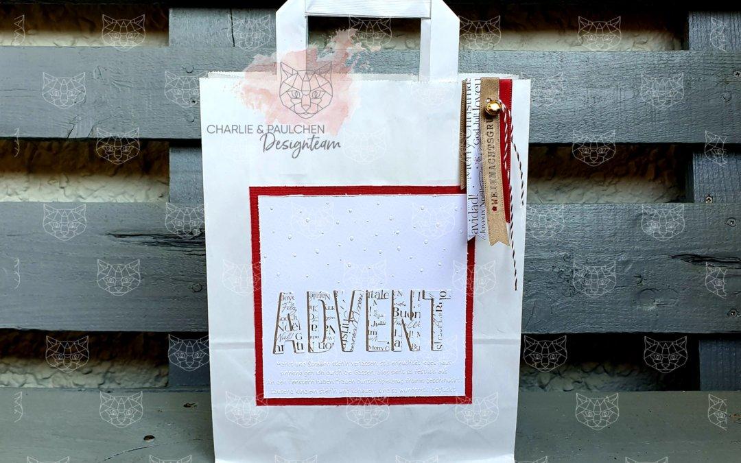 Adventsgeschenktüte
