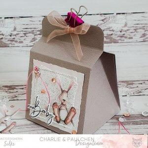 Glückwunschbox zur Geburt